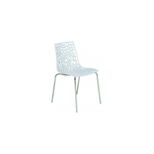Sedie relax impilabili in polipropilene modello Groove. Sedie moderne per casa, cucina, soggiorno, ufficio, sala d'attesa, sala conferenze,  bar, ristorante, pub, pizzeria, gelateria, pasticceria, negozio, albergo, discoteca al miglior rapporto prezzo-qualità.