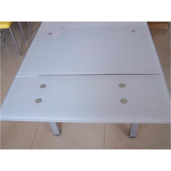 Occasione tavoli da casa piano vetro allungabili prezzi for Tavolo vetro opaco