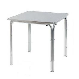 tavolo bar 80x80 quadrato in alluminio,tavolino per esterno a 4 ...