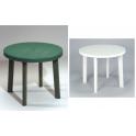 SESTRI - Tavolo contract diametro 90cm in ecoresina per giardino, casa, bar, ristorante, pizzeria Grand Soleil