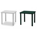 FESTIVAL - Tavolo contract quadrato 80x80cm in ecoresina  per giardino, casa, bar, ristorante, pizzeria Grand Soleil