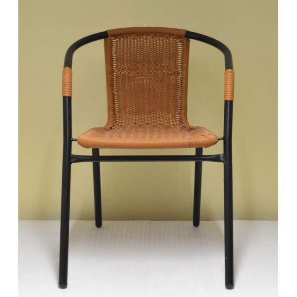 Sedia da esterno giardino bar sedie metallo rattan esterno for Poltrone giardino economiche