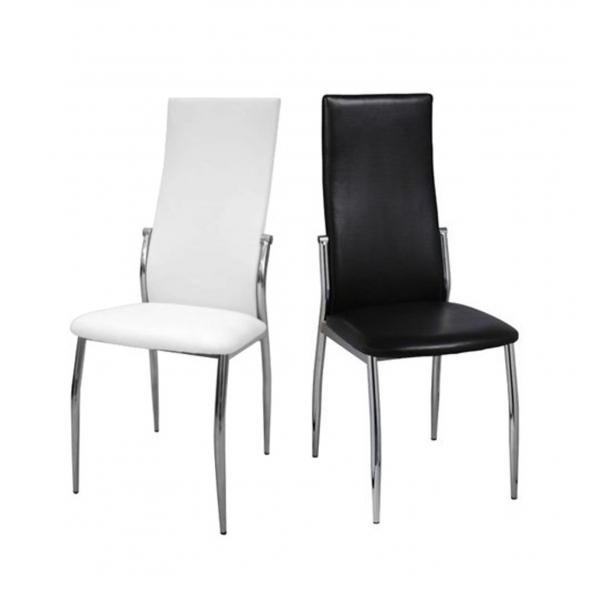 Sedia ecopelle sedie ristorante sedie bar sedia imilabile for Sedute da ufficio