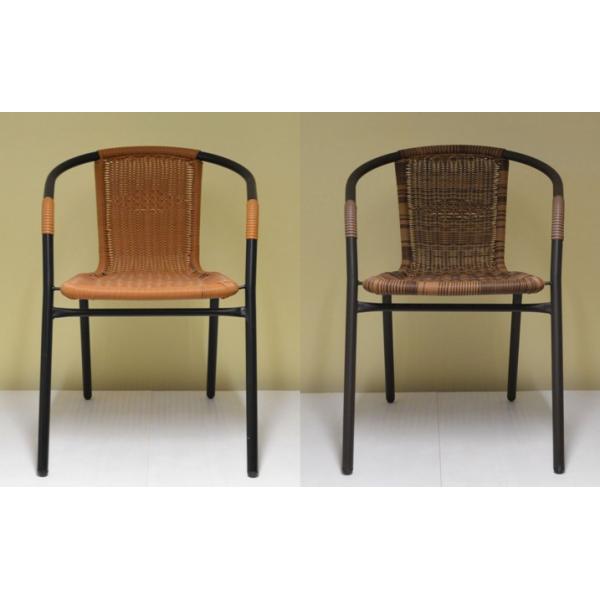Sedia da esterno giardino bar sedie metallo rattan esterno for Sedie miglior prezzo