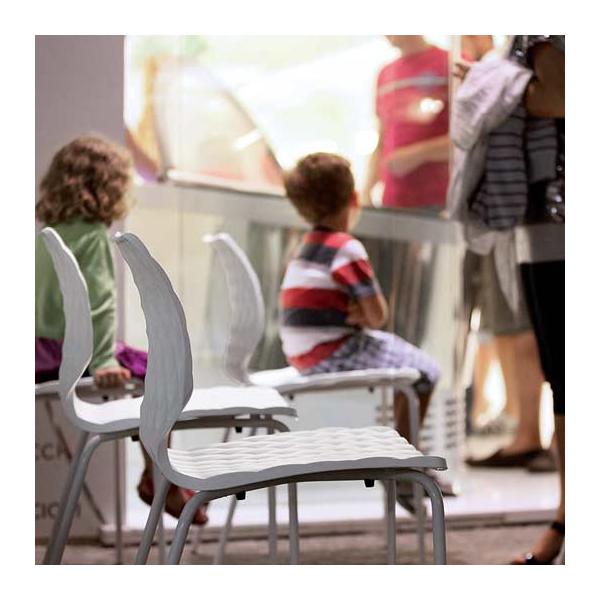 Complementi di design - Sedia in polipropilene modello Uni. Sedie eleganti, robuste, comode e moderne, ottimo rapporto prezzo-qualita, ideali per casa, cucina, soggiorno, ufficio, sala d'attesa, sala conferenze, bar, ristorante, pub, pizzeria, gelateria, pasticceria, negozio, albergo, discoteca.