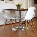 DSW Eiffel chair Eames Sedia in Polipropilene e gambe in legno