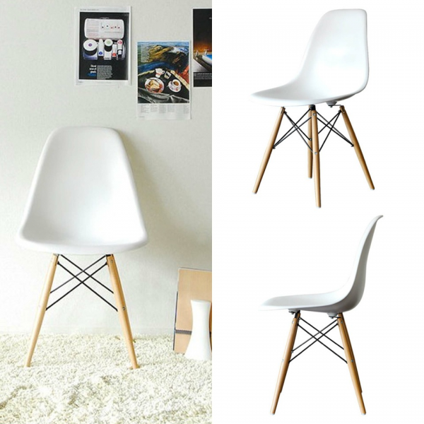 Sedie Charles Eames. Awesome Ea Swivel Task Chair With Casters With ...