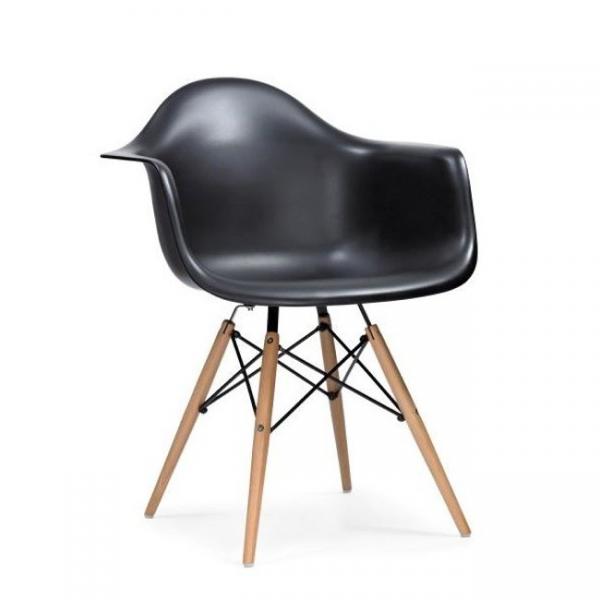 Stunning daw eiffel chair eames sedia in e gambe in legno for Sedie design eames
