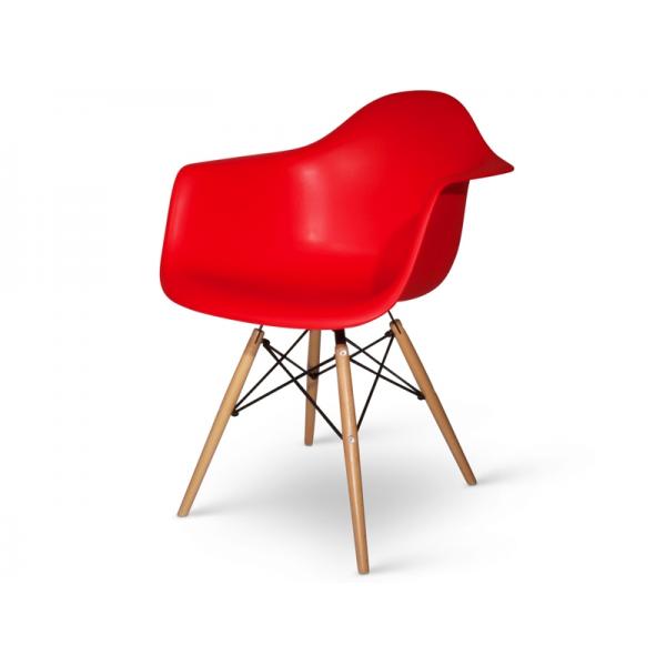 Sedie poltrone daw gambe in legno poltrone daw rosso sedie for Sedie e poltrone design