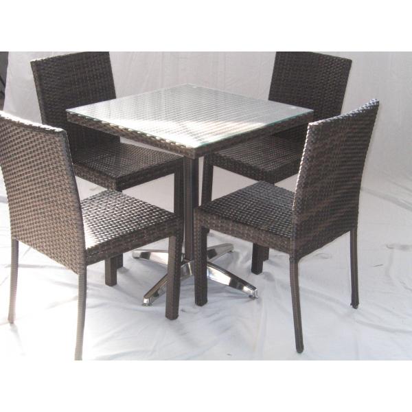 Vendita tavolo contract simil rattan tavoli bar ristorante - Tavolo da giardino rattan ...