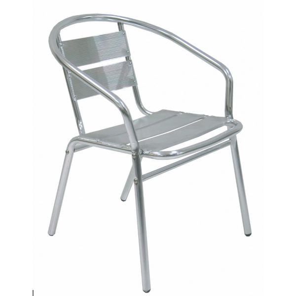 Sedia contract alluminio bar poltrona alluminio sedie - Tavoli e sedie da esterno ...