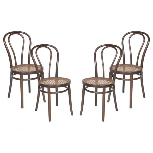 Sedia thonet Vienna struttura in metallo,sedie da esterno per bar