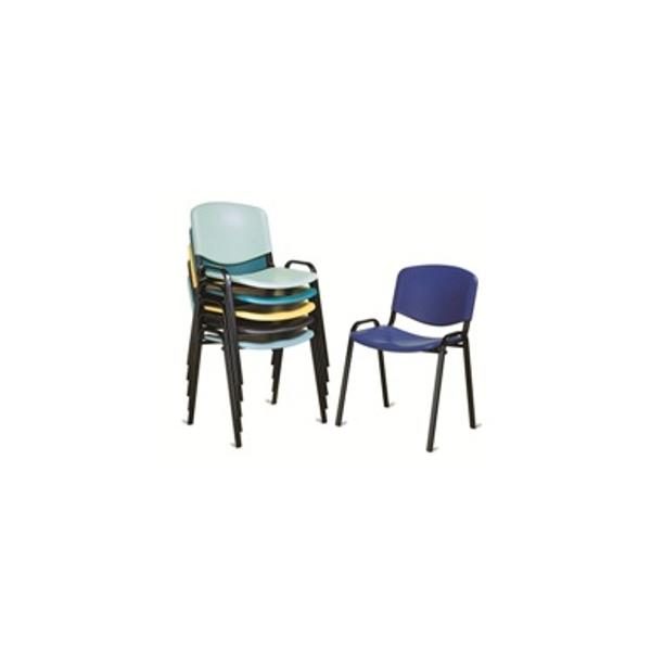 Sedie da esterno sedia colorata sedie impilabili for Sedie economiche per ufficio
