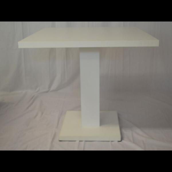 Tavolo giove q in legno gamba centrale,tavolini ristorante,bar ...