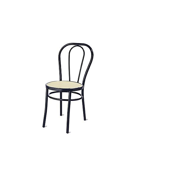 Sedia thonet vienna struttura in metallo sedie da esterno for Tavoli in metallo per giardino
