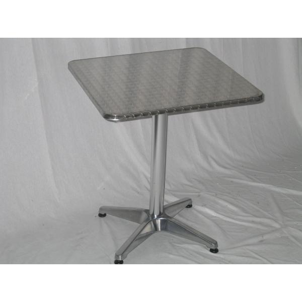 Tavolo 60x60 in alluminio mondoarreda for Tavolo in alluminio