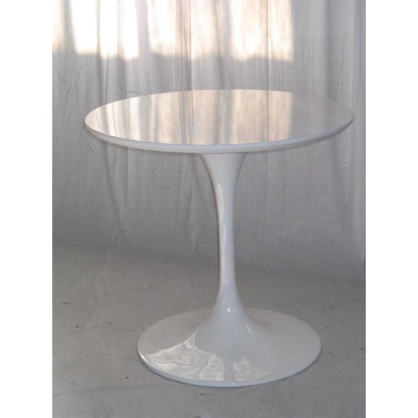 tavolo tulip bianco tondo diam.80,design Eero Saarinen,tavolino tulip ...