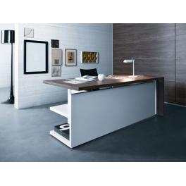 Elegance scrivania ufficio direzionale with scrivanie ufficio for Scrivanie direzionali moderne
