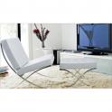 BARCELONA - divano e poltrona Contract in noleggio, per locali design di Mies Van Der Rohe