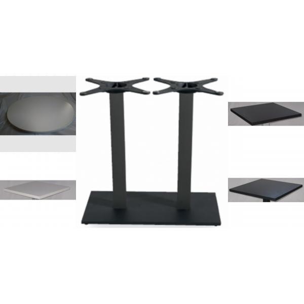 Tavoli gamba in ghisa tavolo contract ferro ghisa tavoli - Gambe in ferro per tavoli ...
