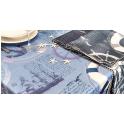 MARINA - Tovaglia stampata trattamento antimacchia 100% poliestere hotel, ristorante, catering, ba