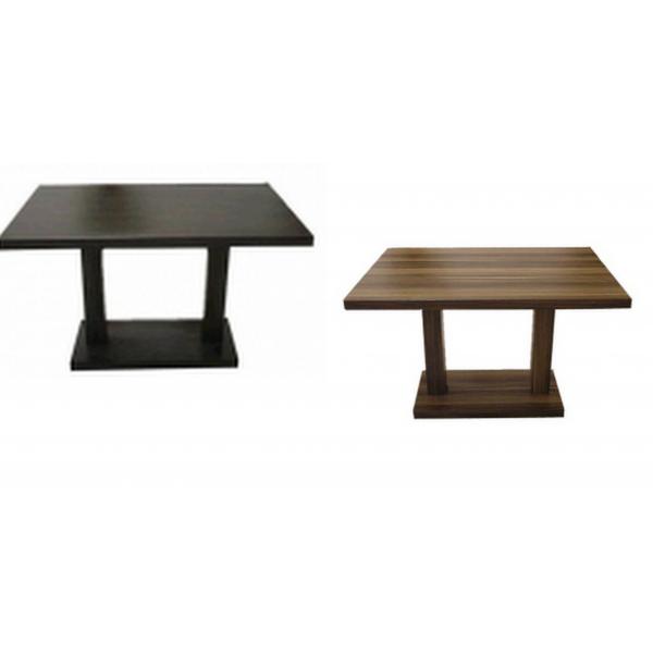Tavolo in legno gambe centrali tavolini ristorante bar - Tavolo policarbonato ...