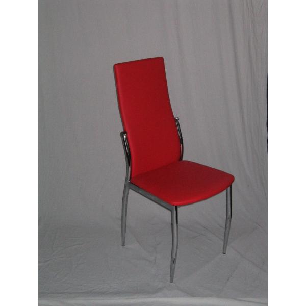 Sedia ecopelle sedie ristorante sedie bar sedia imilabile for Sedie moderne grigie