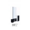 Mobile specchiera centrale ad un posto LF-2358 uso professionale salone parucchiere, studio bellezza