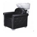 Poltrona lavatesta uso professionale mod.Capitonnè per salone parrucchiere