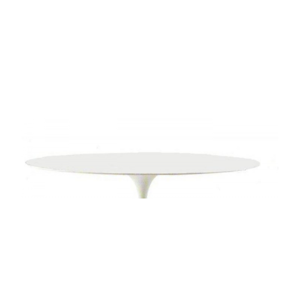 Top piano tavolo tulip con bordo a becco d 39 oca laccato - Tavolo bianco laccato lucido ...