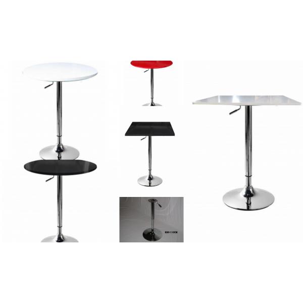 Cool saturno ra h tavolo alto altezza regolabile base with for Ikea divanetti bar