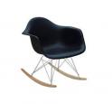 DAR Eiffel chair Eames Poltrona in Polipropilene e acciaio cromato