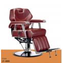 Sedia poltrona parrucchiere barbiere professionale mod.6885 reclinabile, alzabile per salone parrucchiere