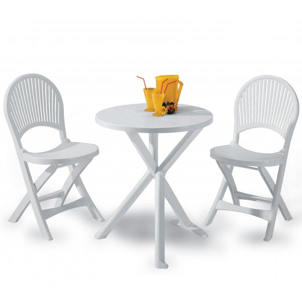 Vendita tavoli e sedie in plastica resina prezzi tavoli for Tavoli e sedie da esterno