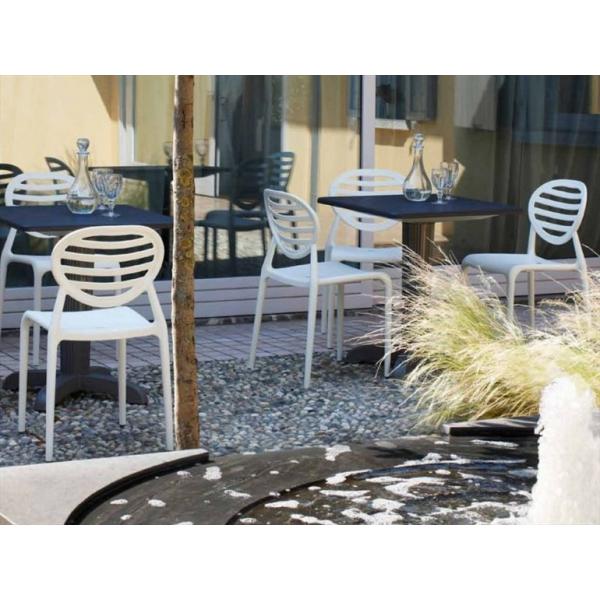 Sedie sala conferenze ufficio arredamento locali contract for Sedie per esterno happy casa