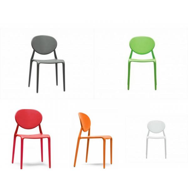 sedia gio contract bar,sedie polipropilene colorate esterno