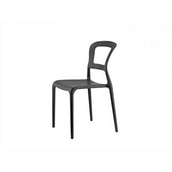 Sedia PEPPER CONTRACT bar,sedie polipropilene colorate esterno IMBILABILI,SEDIE giardino ...