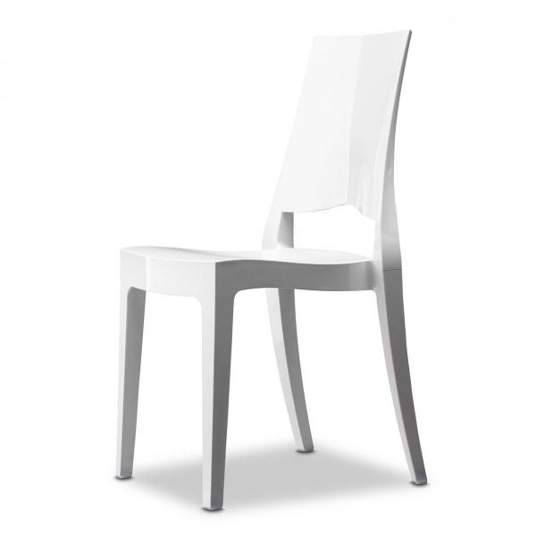 Vendita sedia policarbonato sedie glenda impilabili da for Sedie moderne design