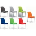 JENNY - sedia Impilabile in polipropilene con gambe in alluminio SCAB DESIGN per bar, ristorante, hotel