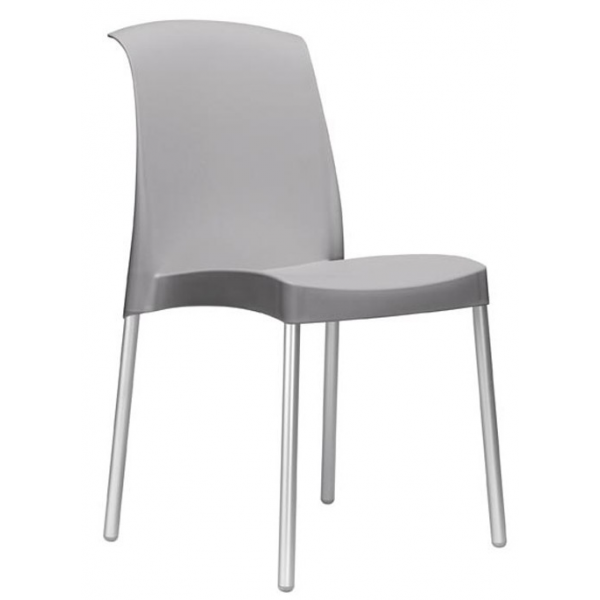 Sedia esterno economica sedie colorate per bar sedie for Sedie in alluminio