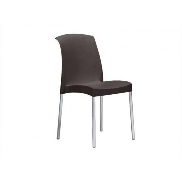 Sedia esterno economica sedie colorate per bar sedie for Sedie policarbonato nere