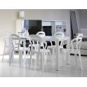 TITì -  Sedia contract Impilabile in Policarbonato da esterno ed interno per bar,ristorante,piscina,hotel SCAB DESIGN