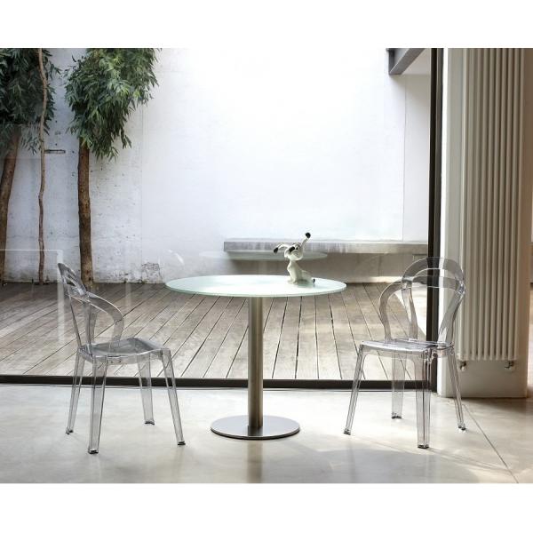 Vendita sedia policarbonato sedie tit impilabili da for Sedie in policarbonato trasparente economiche