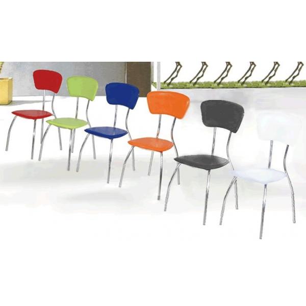 sedie cucina in metallo sedia con struttura in metallo e seduta