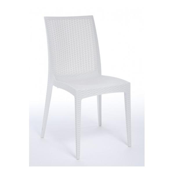 Sedia bistrot contract bar sedie rattan esterno imbilabili for Tavoli ufficio economici