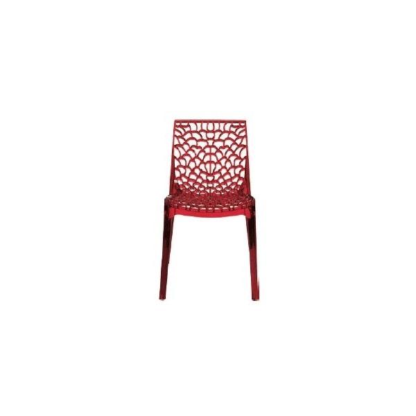 Vendita sedia policarbonato sedie gruvyer impilabili da for Sedie a basso prezzo