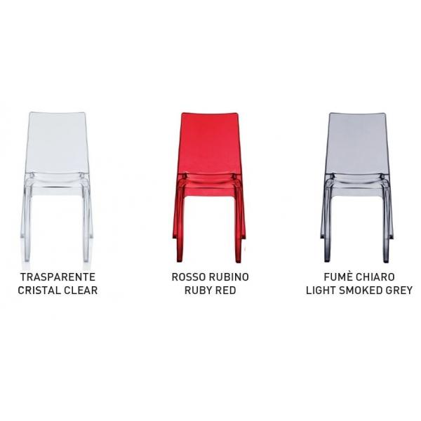 vendita sedia policarbonato,sedie impilabili da esterno,sedie colorate da bar,occasione sedie ...