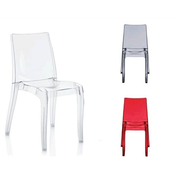 Vendita sedia policarbonato sedie impilabili da esterno for Sedie in policarbonato trasparente