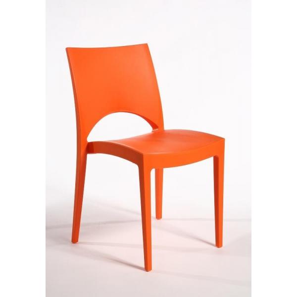 chaise paris empilable en polypropyl ne grand soleil mondoarreda. Black Bedroom Furniture Sets. Home Design Ideas