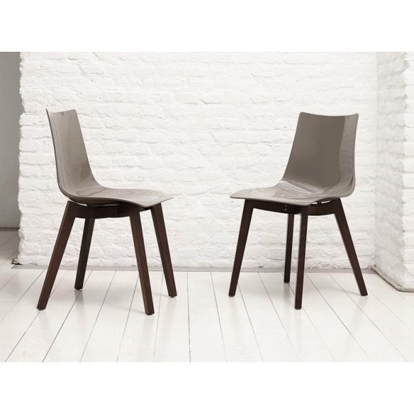 Vendita sedia policarbonato faggio sedie legno - Sedie policarbonato ...